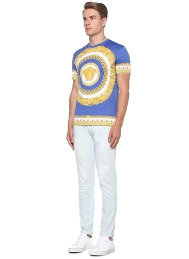 Versace Tişört Mavi